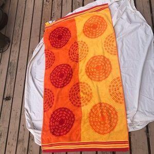 Egyptian cotton beach blanket towel